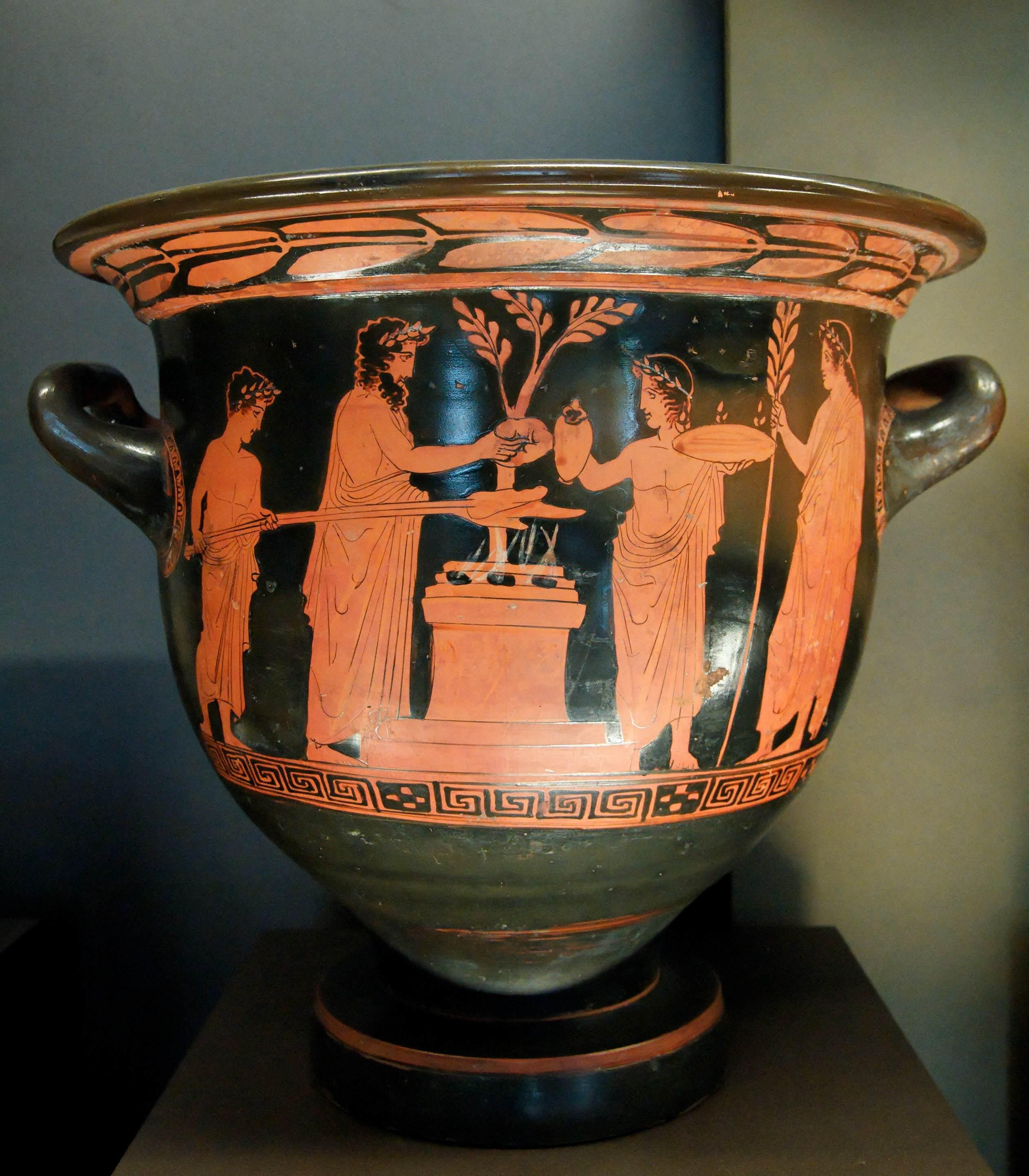Краснофигурная роспись греция